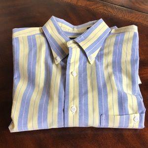 Lands' End Plaid Button-Down Shirt